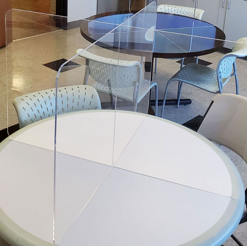 Acrylic Table Dividers