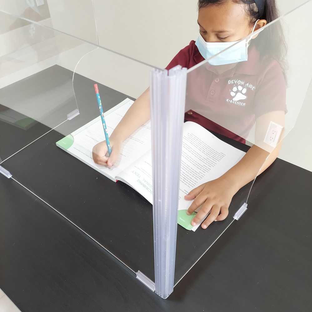 Adjustable Desk Divider