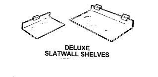 Slatwall Shelves