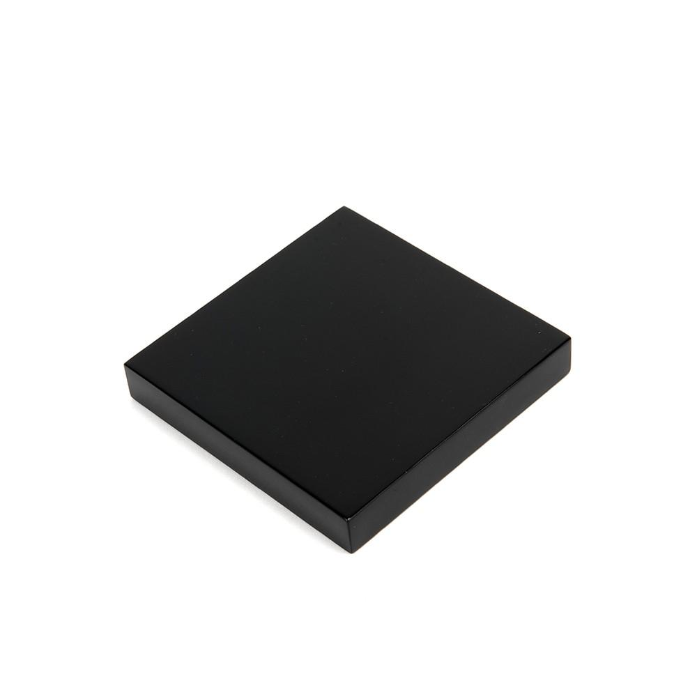 Solid Black Acrylic Blocks