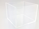 Clear Acrylic 5 Sided Box - 3