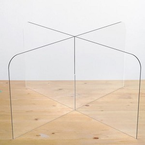 "Table Divider (1) 24"" H x 48"" W & (1) 24"" H x 24"" Side Divider"